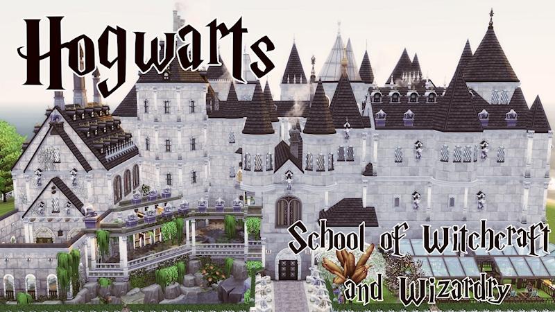 Ko-fi - Hogwarts - Harry Potter - THE SIMS 4 - Ko-fi