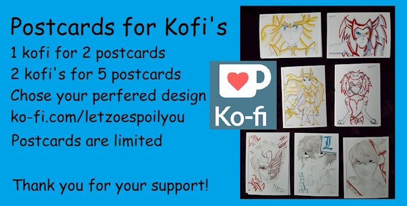 Ko-fi - Postcards for Kofi's - Ko-fi ❤️ Where creators get