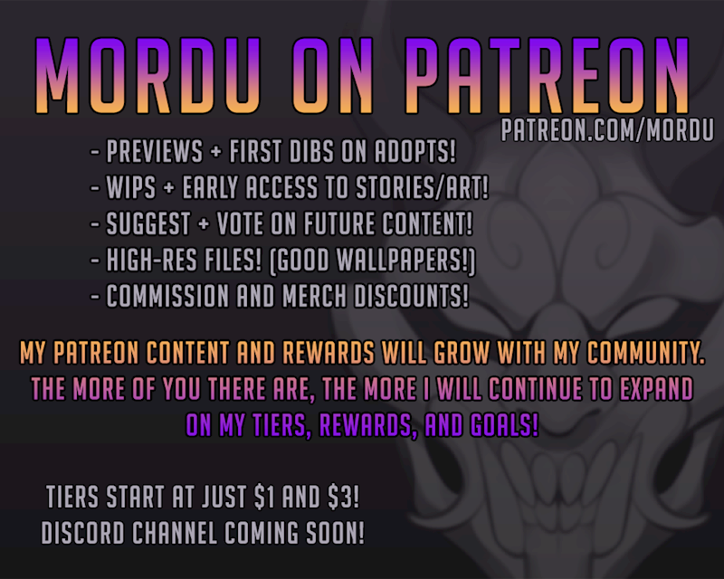Ko-fi - Mordu on Patreon! - Ko-fi ❤️ Where creators get
